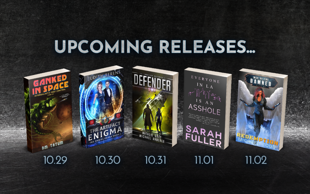New LMBPN Books coming October 29 – November 2