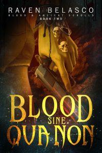 BLOOD SINE QUA NON e-book cover