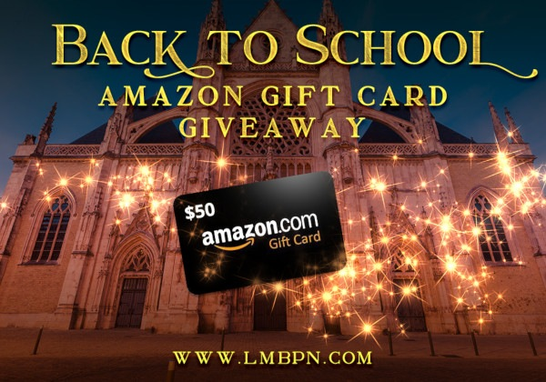 Back to school giveaway banner