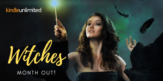 witchy bookfunnel promo banner