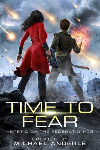 Time to Fear e-book cover