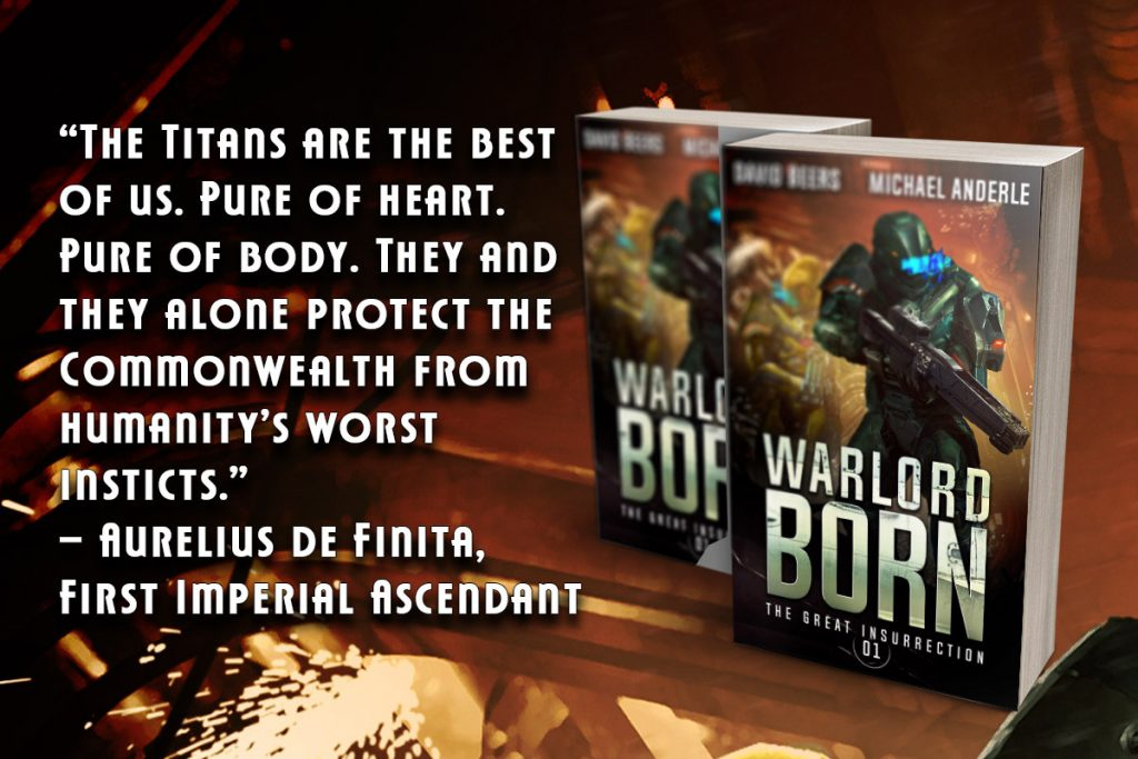 Warlord Born quote banner