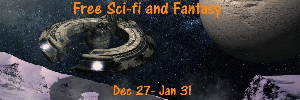 Sci- Fi Bookfunnel Banner