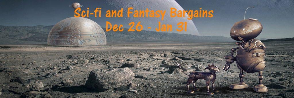 Sci-fi and fantasy Bookfunnel Banner