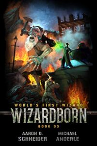 Wizardborn e-book cover