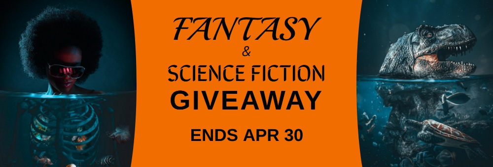 Fantasy and Sci-fi April Giveaway Banner