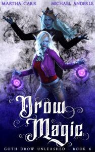 Drow Magic e-book cover