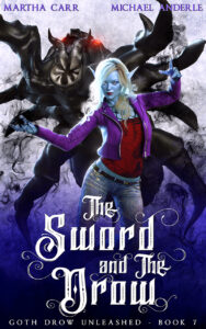 The Sword and The Drow e-book cover