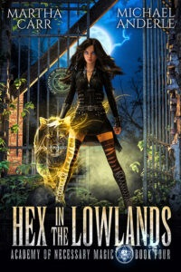 Hex in The Lowland e-book cover