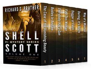 Shell Scott Mystery Series volume one e-book cover