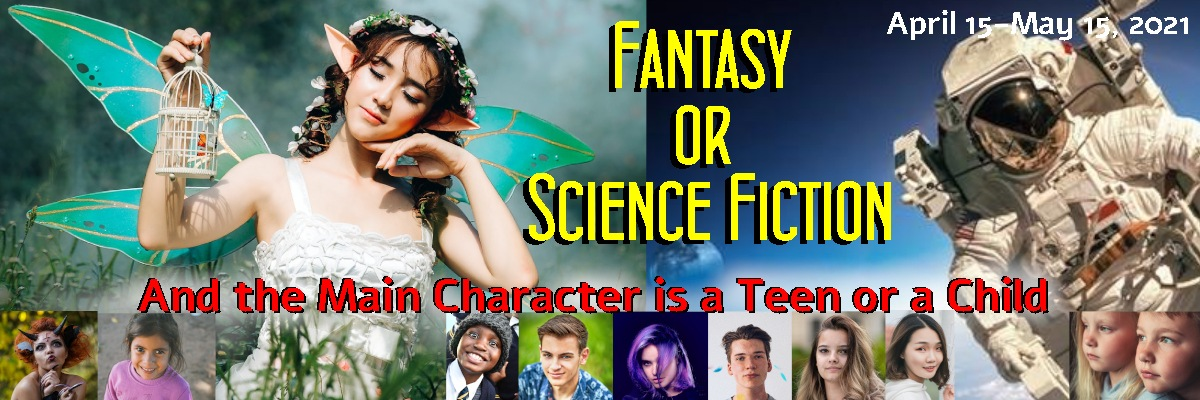 Sci-fi and fantasy bookfunnel promo banner