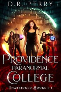 Providence paranormal college e-book cover