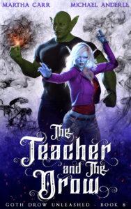 The Teacher and the Drow e-book cover