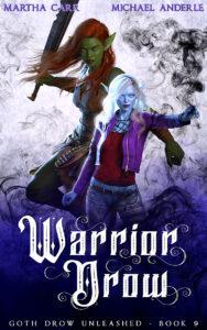 Warrior Drow e-book cover