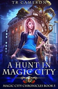 A Hunt in Magic city e-book cover