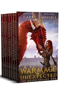 Never ending war complete boxed set e-book cover