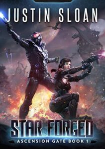 Star Forged Cover e-book cover
