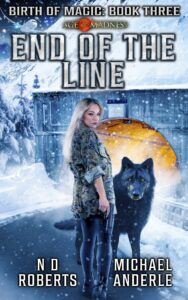 End of the Line e-book cover