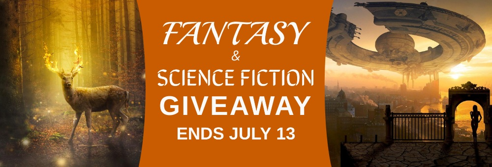 Fantasy and Sci-fi Fiction giveaway banner
