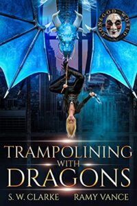 Trampolining with Dragons e-book cover