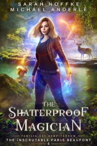 The Shatter proof Magician e-book cover