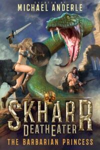 Barbarian princess e-book cover