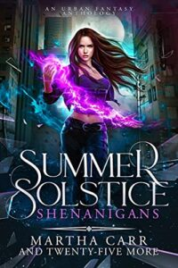 SUMMER SOLSTICE SHENANIGANS E-BOOK COVER