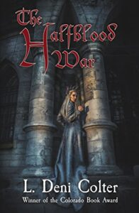 The Halfblood war e-book cover