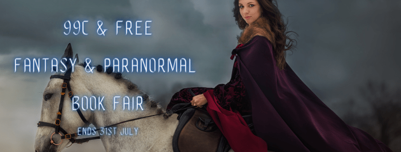 .99 Cent Paranormal Promo Banner