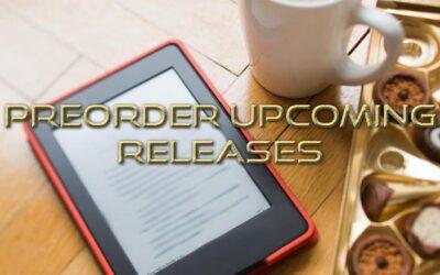 PREORDER ALERT: Books coming soon in September!