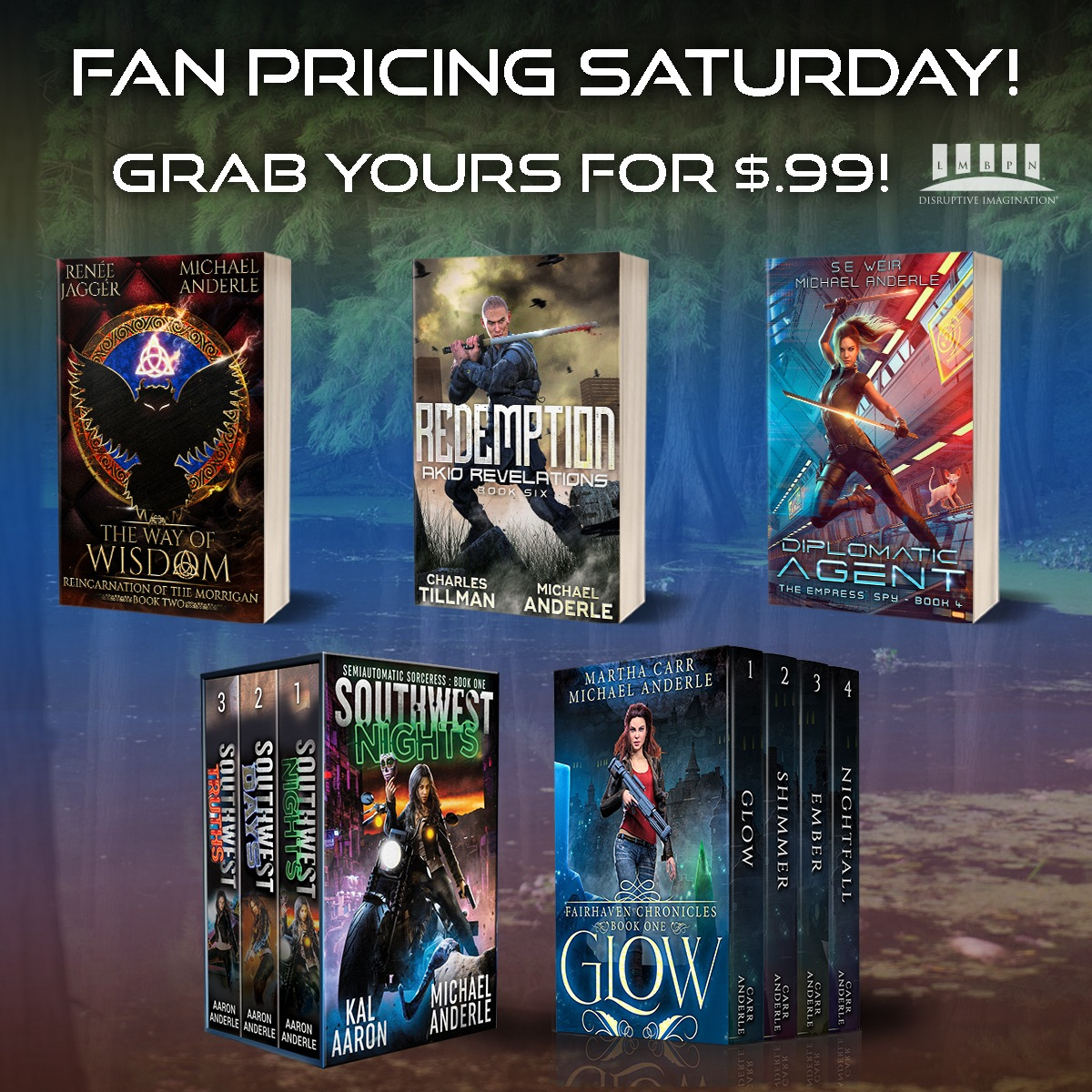 Locked and Loaded fan's pricing banner
