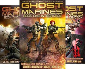Ghost Marine series e-book cover