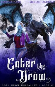 ENTER THE DROW E-BOOK COVER
