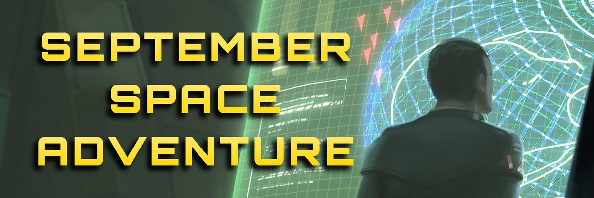 September Space Adventure banner