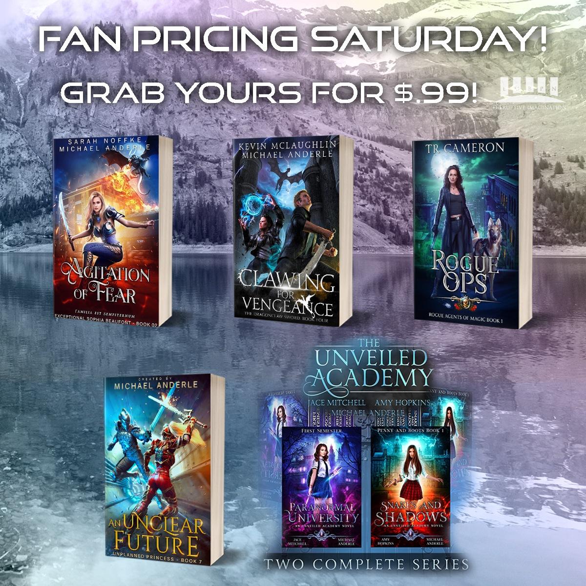 Fallin' in Love Fan's Pricing Saturday banner cover