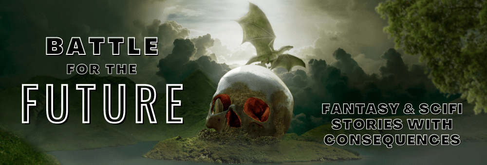 Battle for the future book promo banner