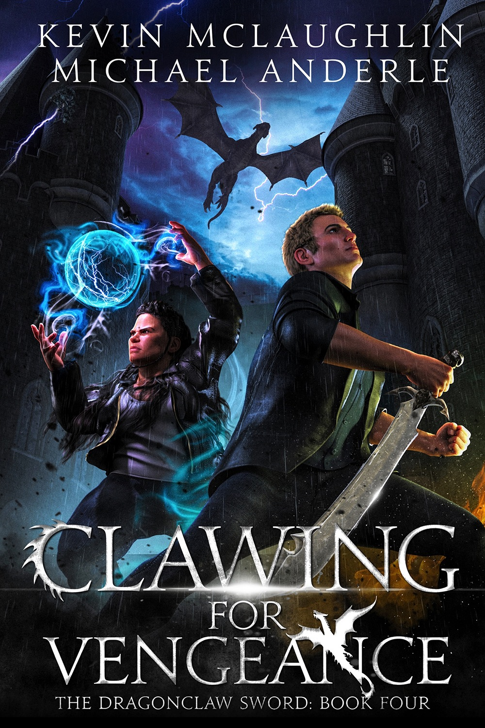 Clawing For Vengeance e-book cover