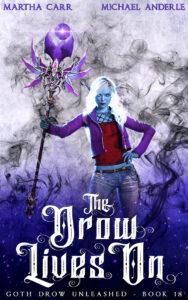 THE DROW LIVES ON E-BOOK COVER