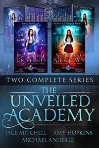 The Unveiled Academy Two Series e-book cover