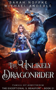 THE UNLIKELY DRAGONRIDER E-BOOK COVER