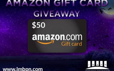 Trick-or Treat Yo' Self $50 Amazon Gift Card Giveaway