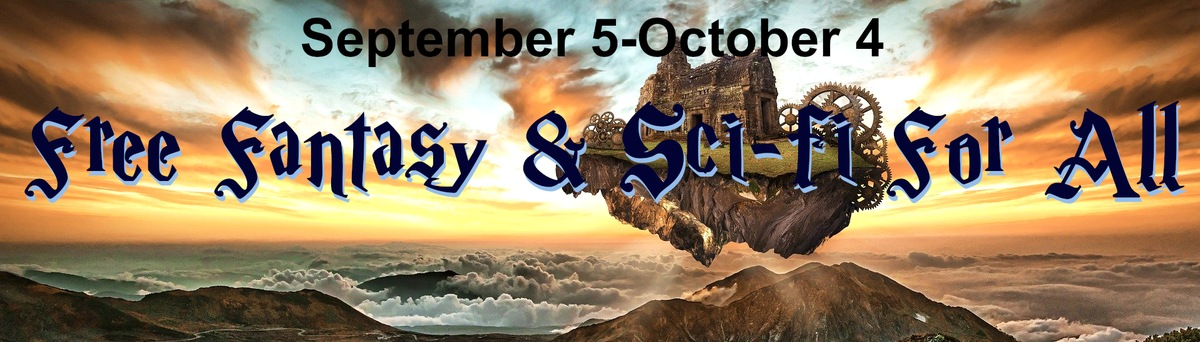 Sci-fi and Fantasy for all promo banner