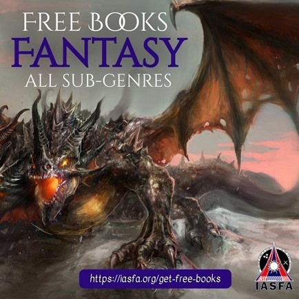 Free Fantasy books promo banner