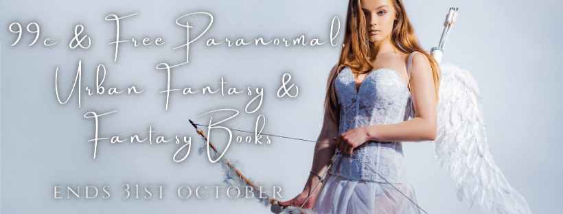 .99 Cents Paranormal and Fantasy banner