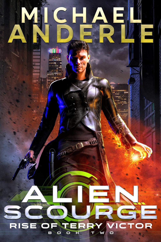 Alien Scourge e-book cover