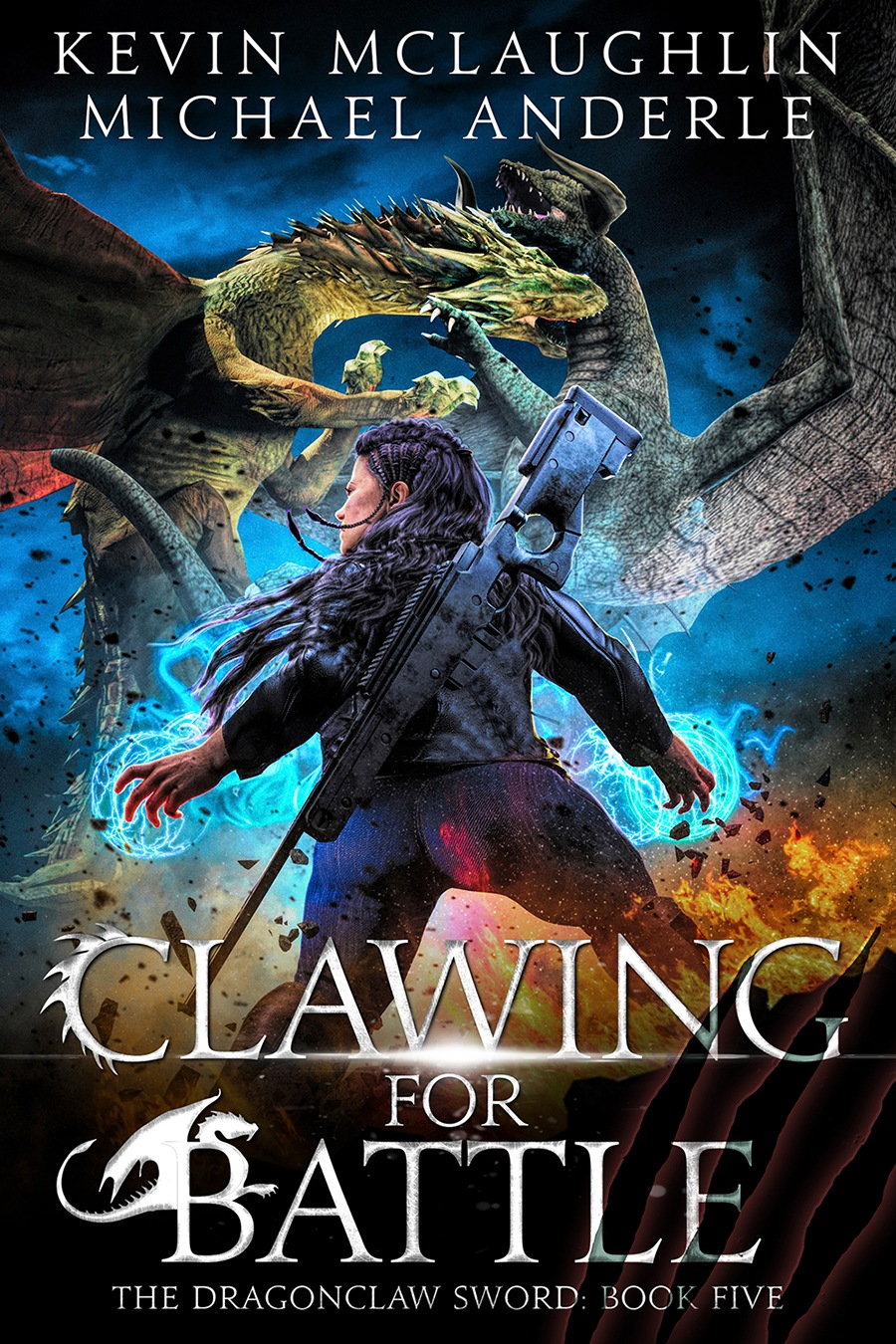 CLAWING FOR BATTLE E-BOOK COVER