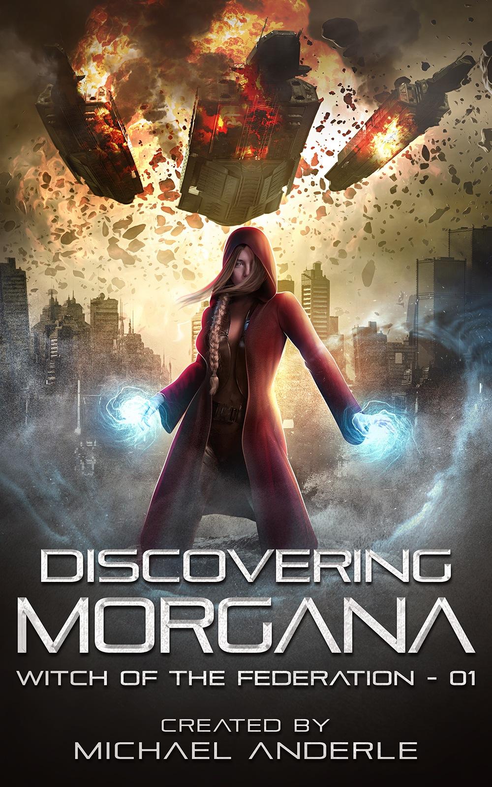 DISOCERING MORGANA E-BOOK COVER