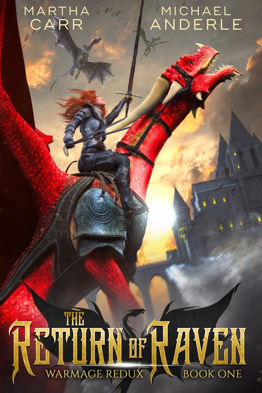 Return of raven e-book cover