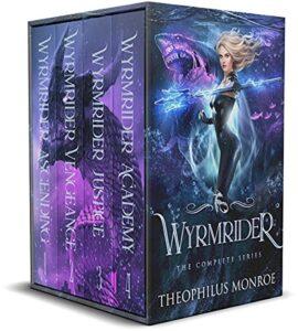 Wyrmrider Books 1-4 e-book cover